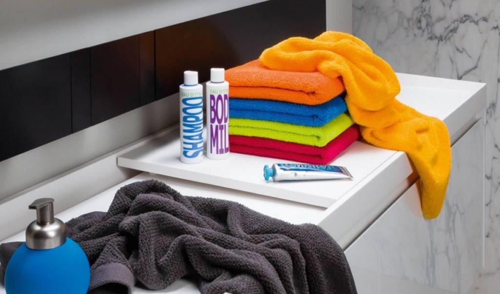 Koupelnová souprava ručníků