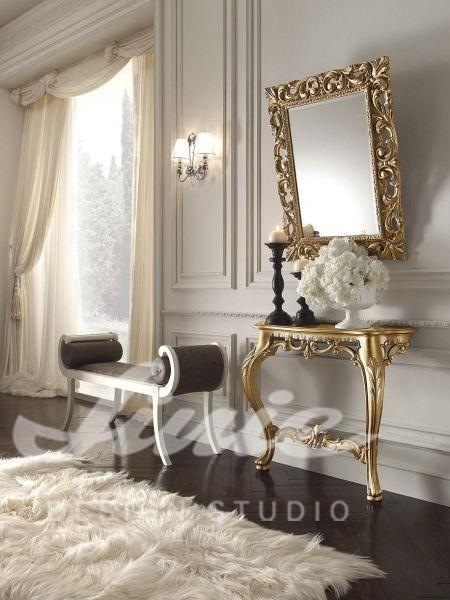 Inspirace pro ložnice v luxusním stylu se zlatými detaily