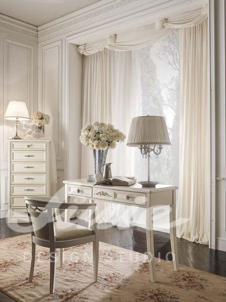 Inspirace pro ložnice v luxusním stylu s bílým textilem