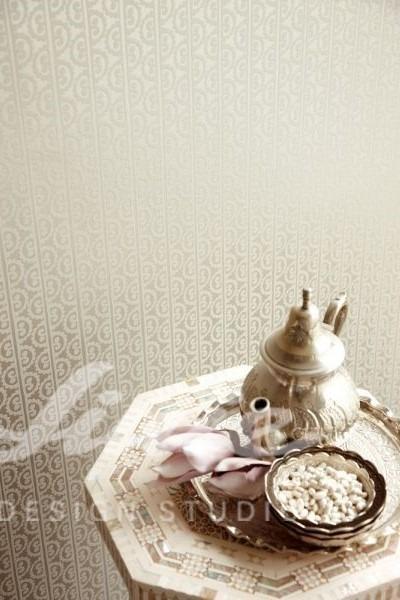 Inspirace pro ložnice v luxusním stylu s čajovým servisem