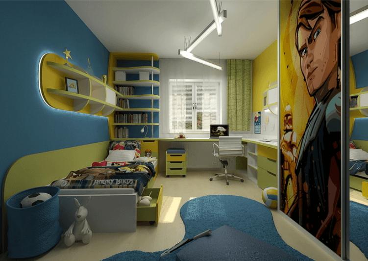 Nábytek do dětského pokoje 68