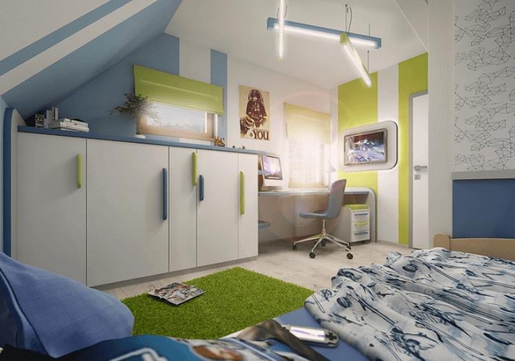 Nábytek do dětského pokoje 58