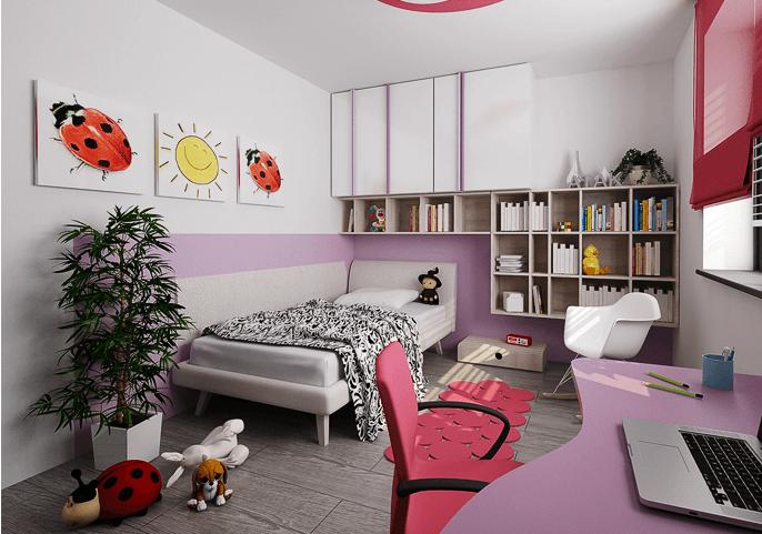 Nábytek do dětského pokoje 57