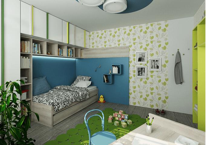 Nábytek do dětského pokoje 56