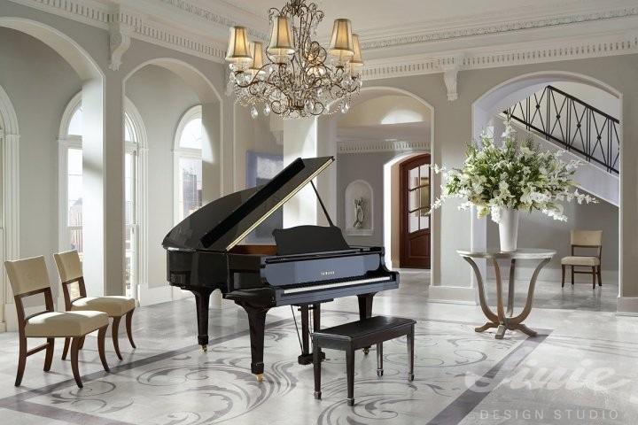Luxusní interiérová podlaha bílý mramor