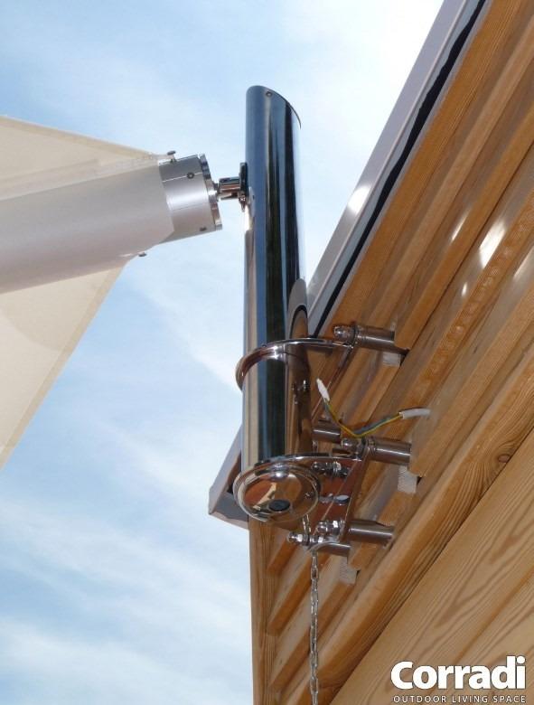 Sluneční plachta Scirocco 2