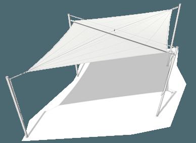 Sluneční plachta Typ A - 1