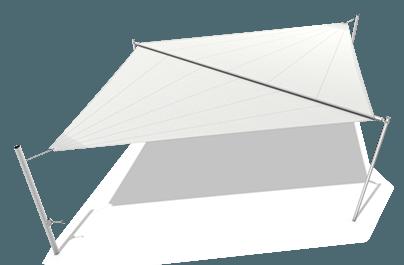 Sluneční plachta typ C - 1