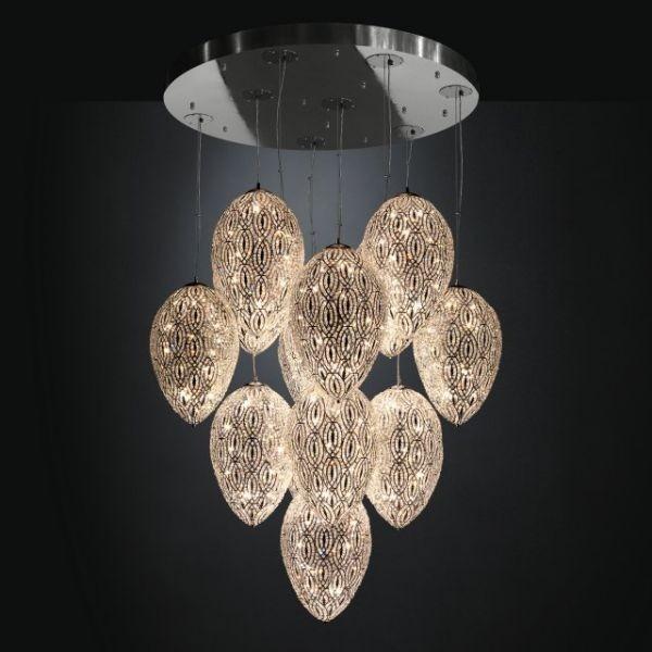 Moderní stropní svítidlo v luxusním designu