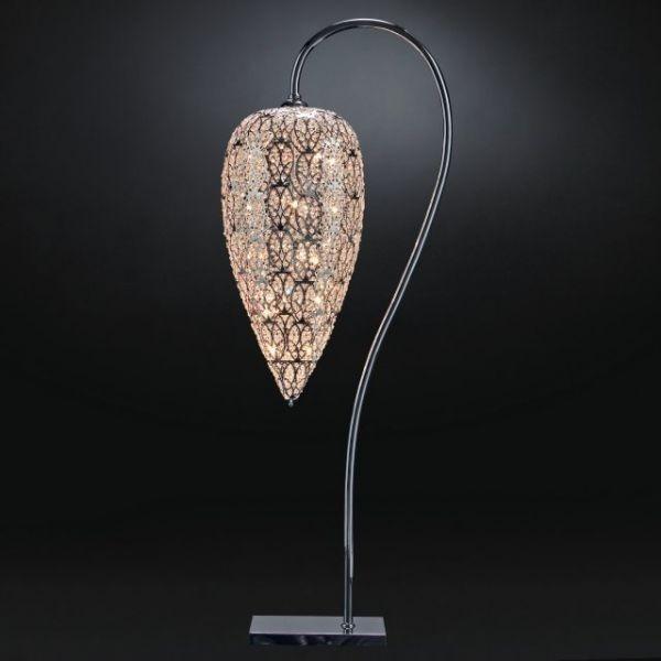 Moderní stojací lampa s luxusním designem