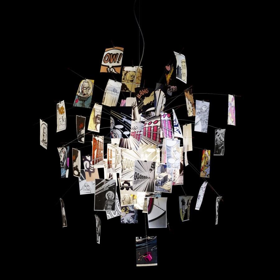 Moderní stropní svítidlo v nadčasovém provedení