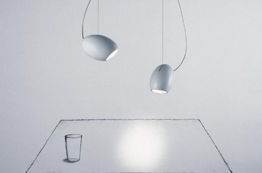 Moderní stropní svítidla v bílé barvě