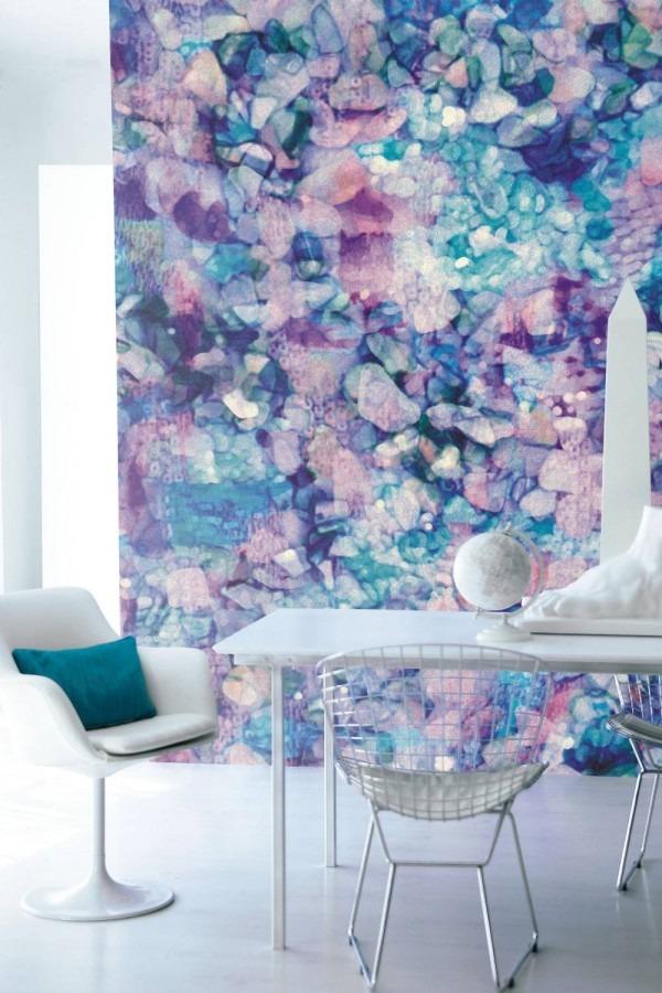 moderní fialová tapeta