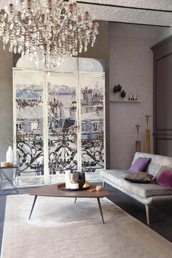 Obrazová tapeta imitace okna