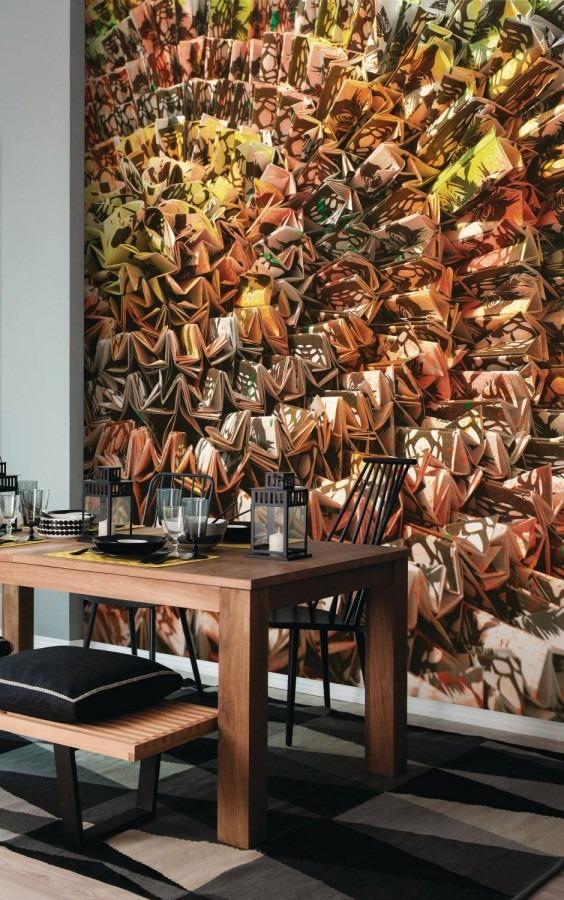 Obrazová tapeta na stěnu hnědá