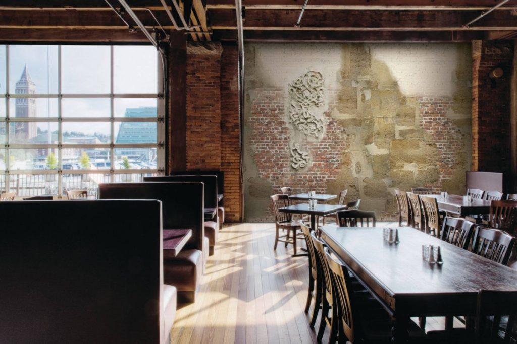 Obrazová tapeta stará zeď cihly