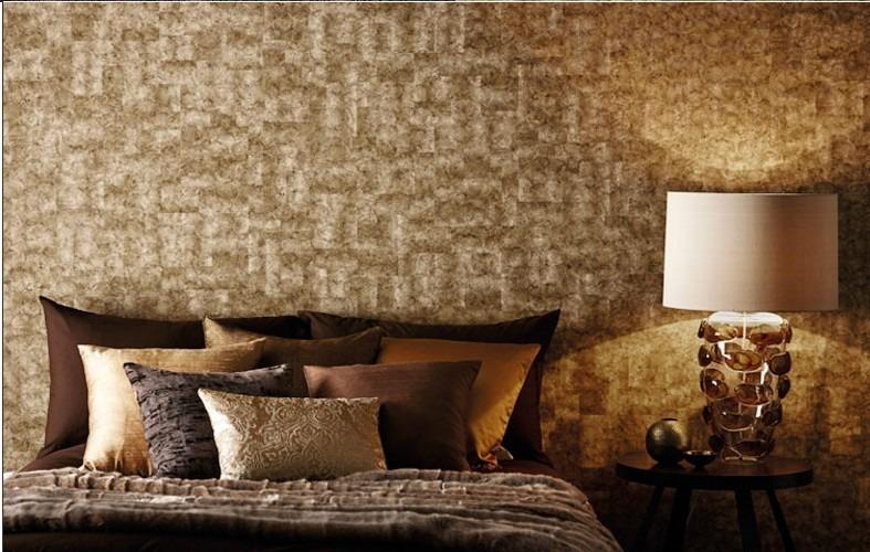 zlatá luxusní tapeta