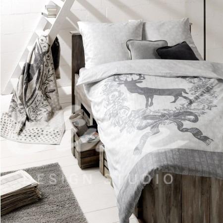 Povlečení na manželskou postel s přírodním motivem