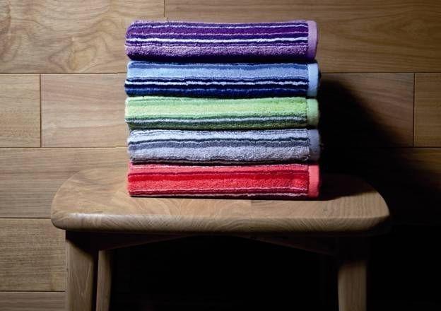 Souprava ručníků v základních barvách