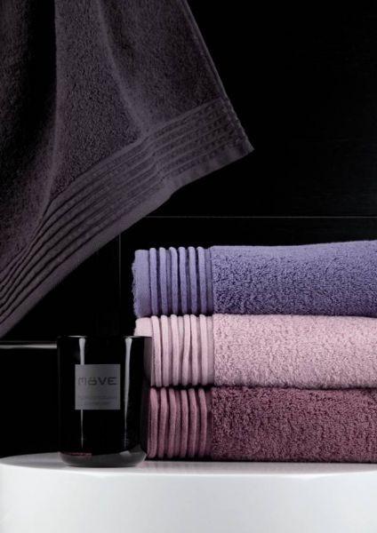 Souprava barevných ručníků v pastelových odstínech