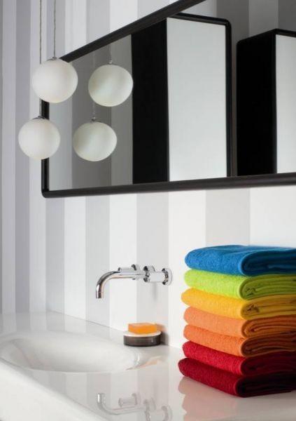 Souprava barevných ručníků