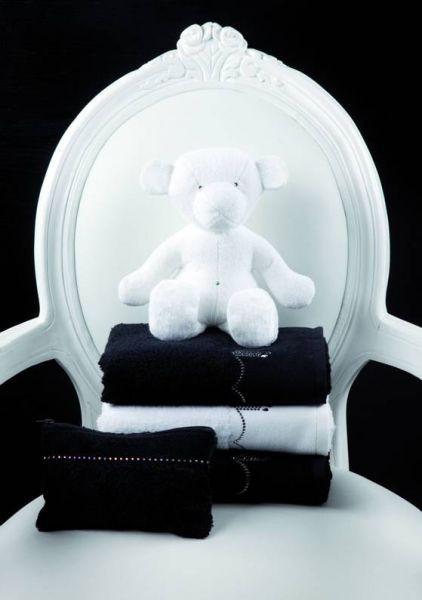 Souprava ručníků černobílých