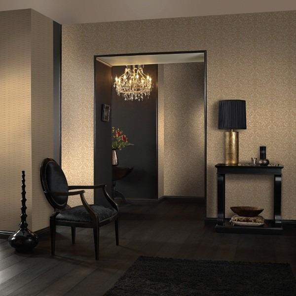 Textilní tapeta s minimalistickým motivem