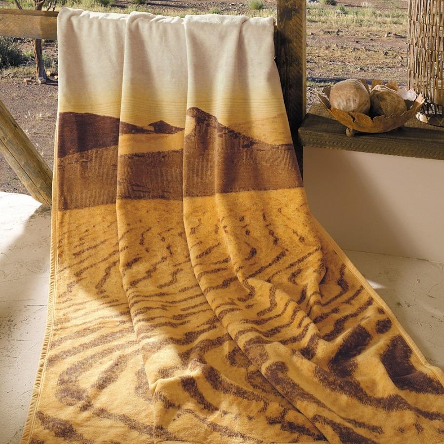 TV přikrývka s motivem pouště