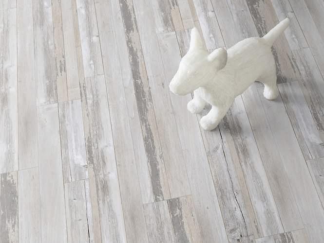 Vinylová podlaha s retro efektem