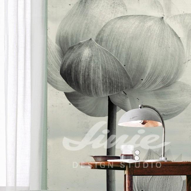 Tapeta s motivem květiny na zeď