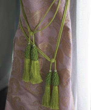 Volná dekorace zelená