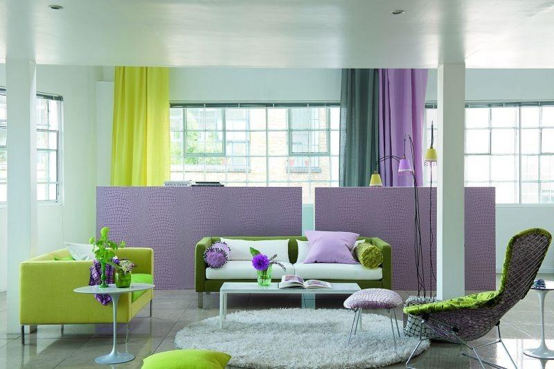 Barevné záclony do interiéru