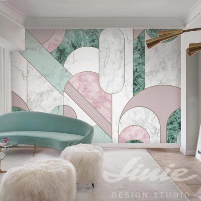 Obrazová tapeta na zeď art deco