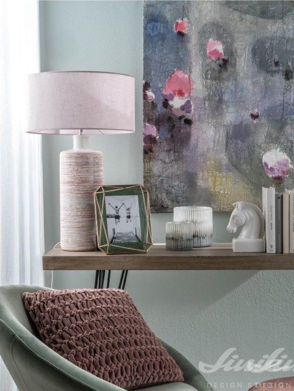 obraz růžový fialový loca nera