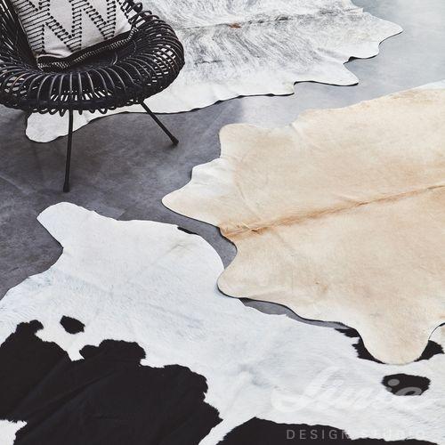 koberec hovězí kůže