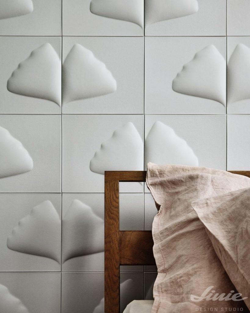 Bílá dekorace na stěnu StudioArt
