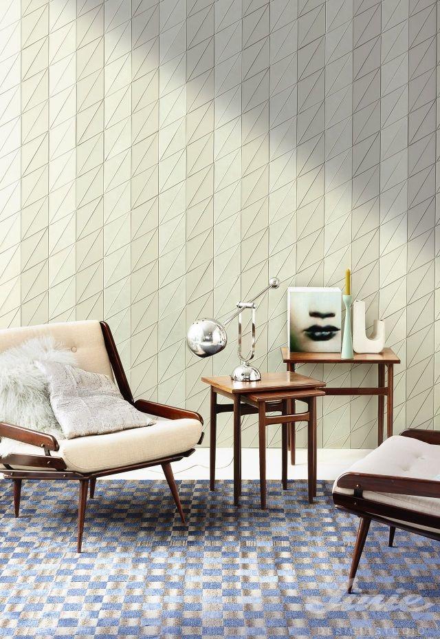 kožená bílá stěna StudioArt