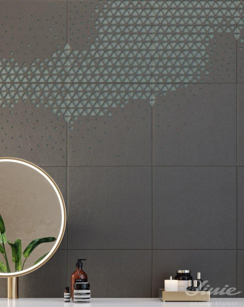 Dekorativní obklad stěny StudioArt šedý