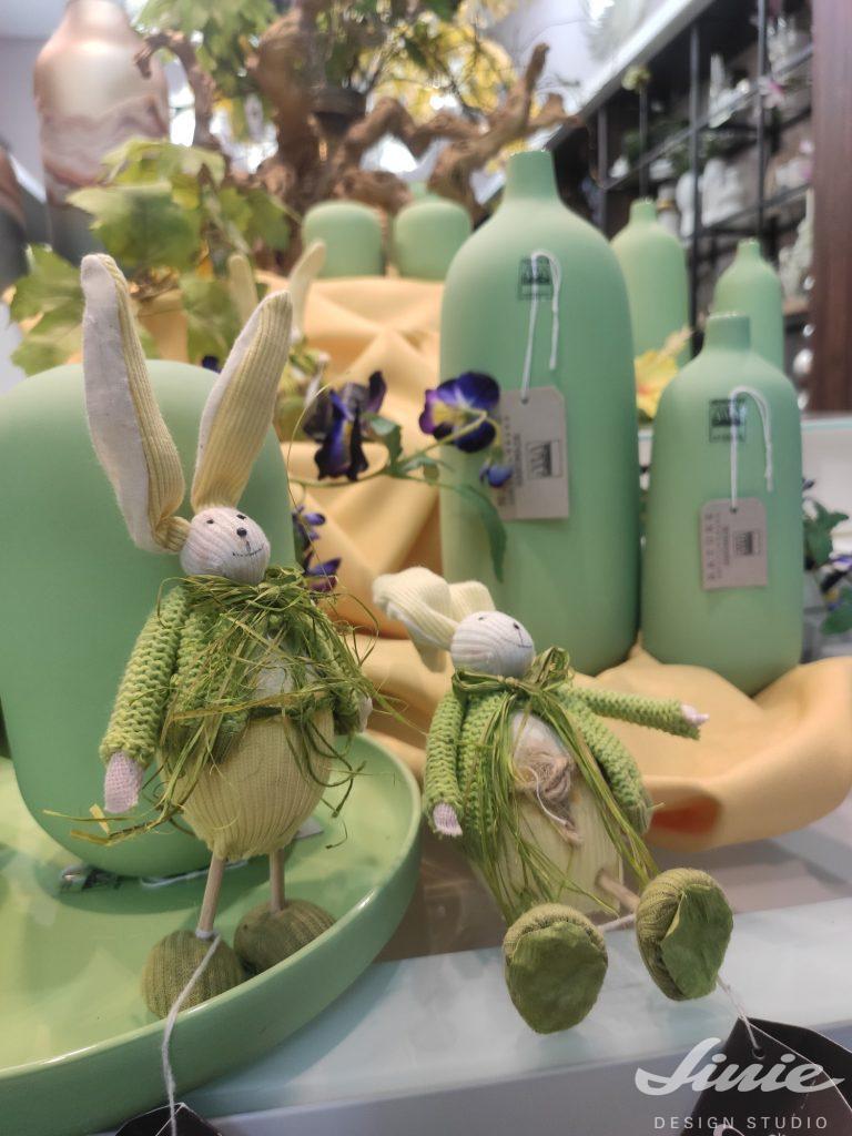 Velikonoční zajíčci dekorace
