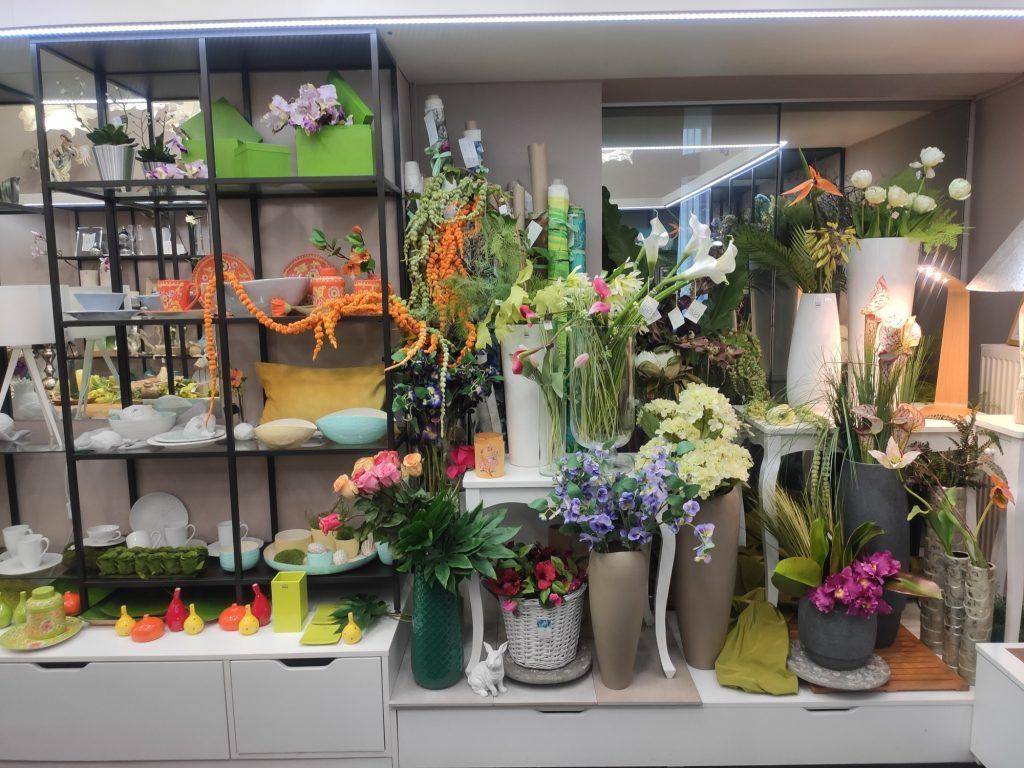 Luxusní umělé květiny silkka