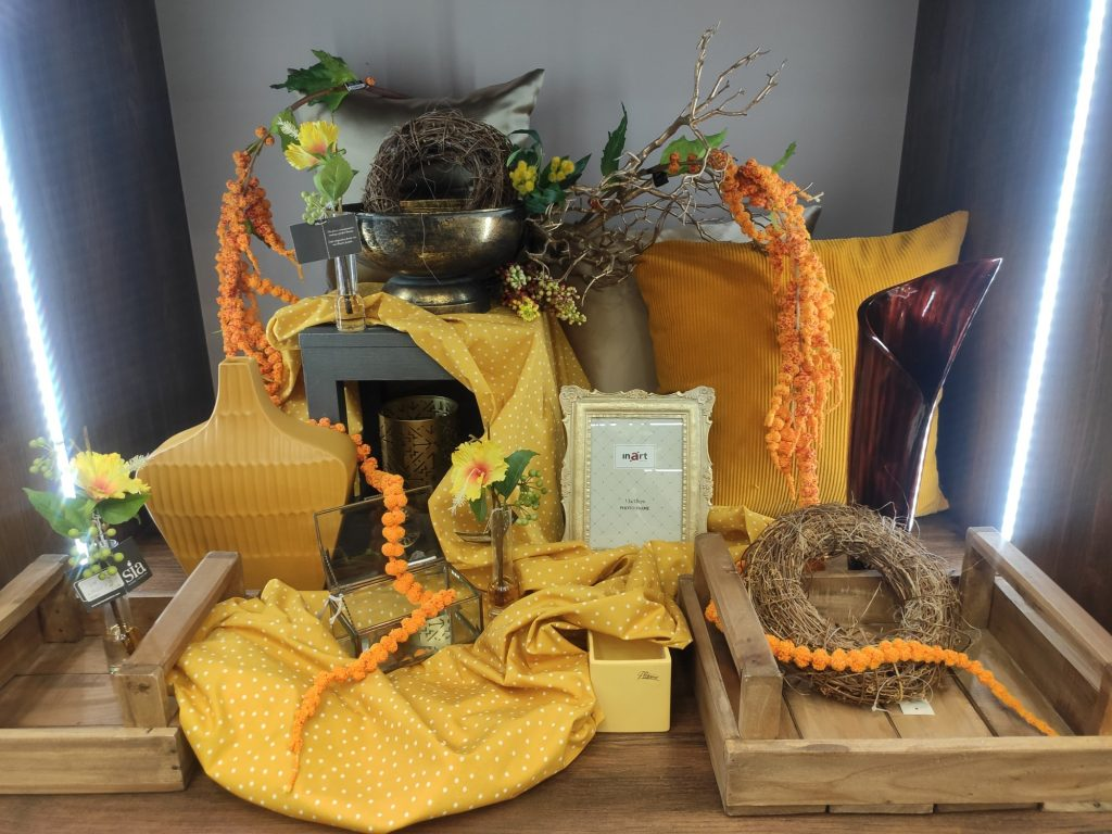 Jarní dekorace žluté