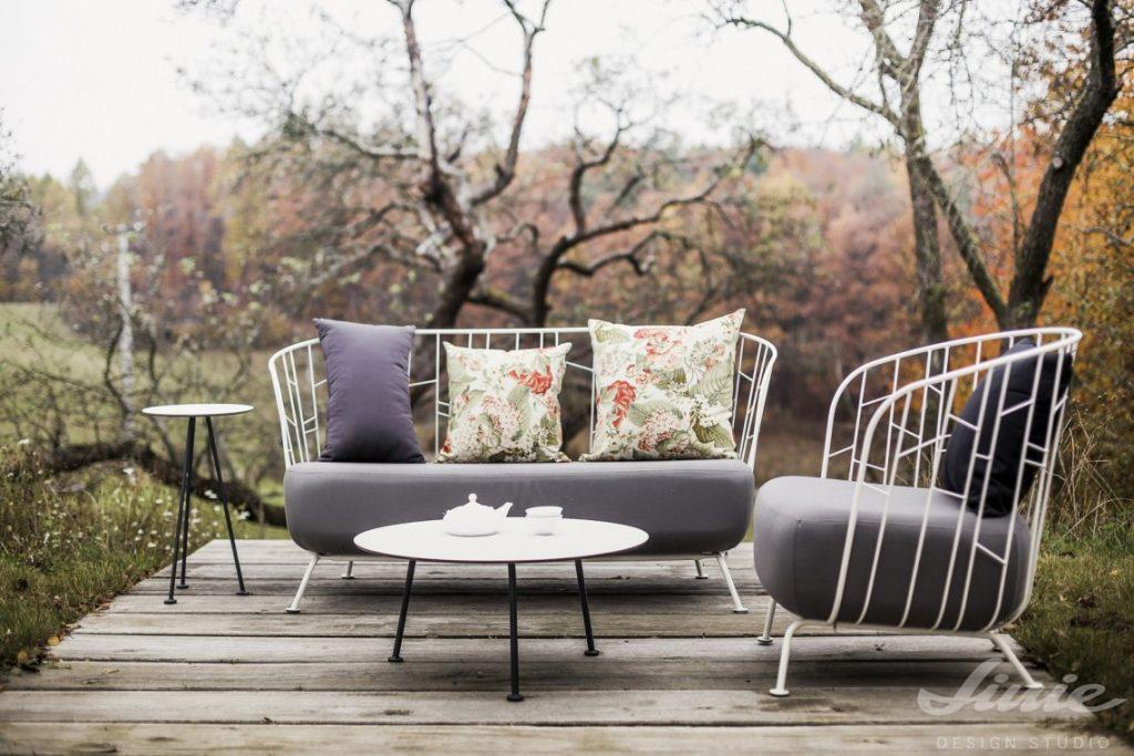zahradní nábytek čalouněná designová pohovka