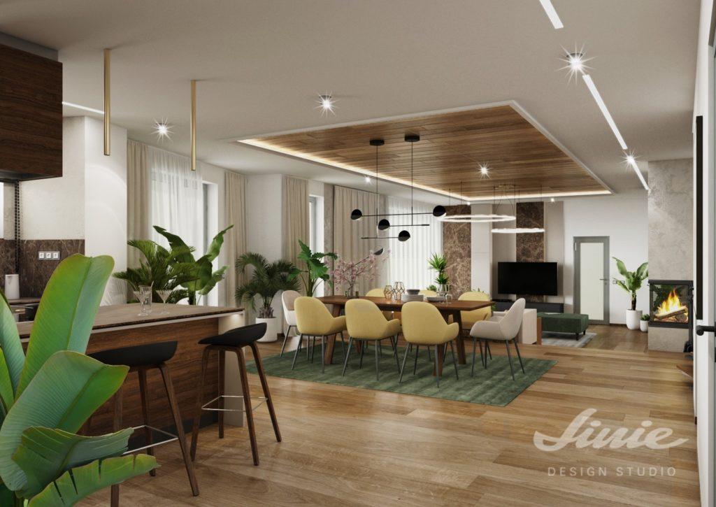 Vizualizace luxusního domu