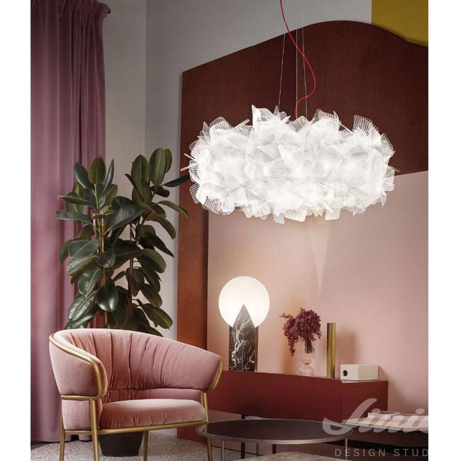 designové luxusní světlo slamp bílé