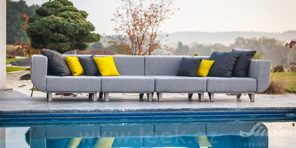 todus designový čalouněný sedací nábytek na zahradu