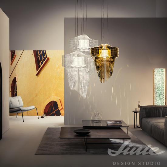 luxusní designové světlo slamp různé barvy