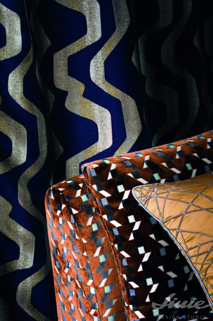 kolekce bytového textilu casamance iki