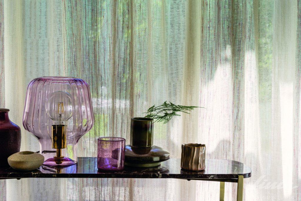 přírodní průhledná záclona casamance jardinneroli