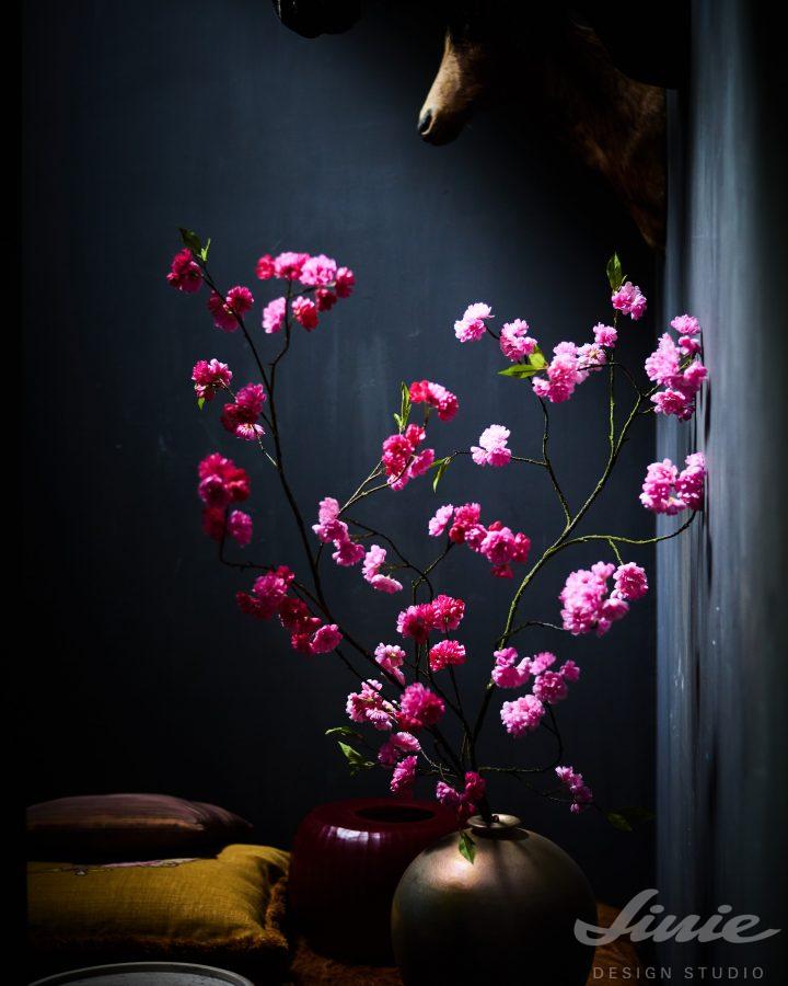umělá sakura do vázy silk-ka