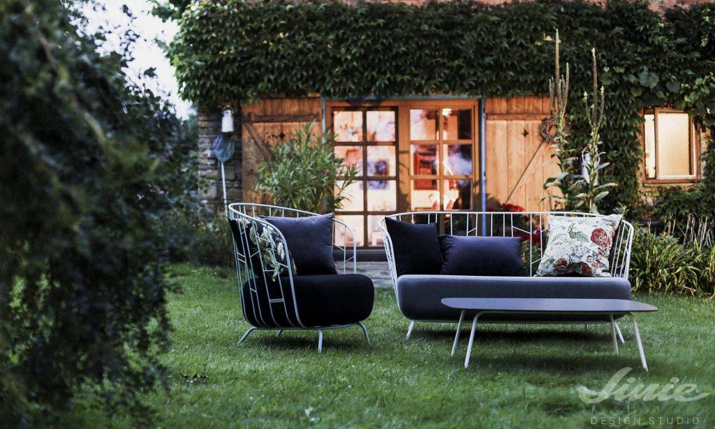 egoe designová sedačka zahradní